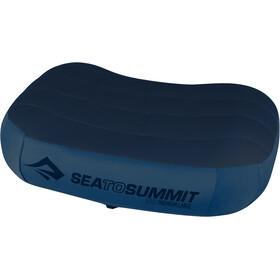 Sea to Summit Aeros Premium Almohada L, navy blue